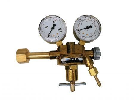Druckminderer für Co2/Helium/Argon
