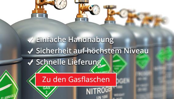 Gasflaschen Nitrogen